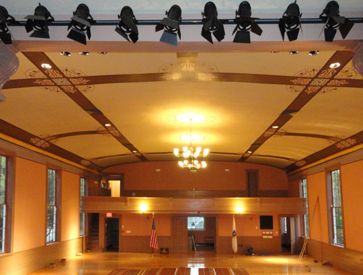 Sandwich Town Hall Restored Auditorium