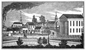 Drawing by John Warner Barber, about 1837